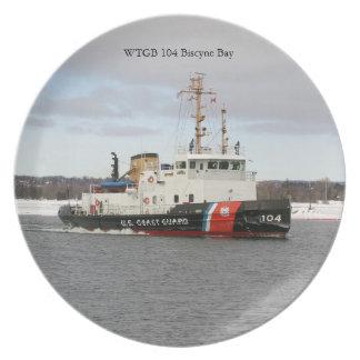 WTGB 104 Biscyne Bay plate