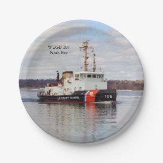WTGB 105 Neah Bay paper plate