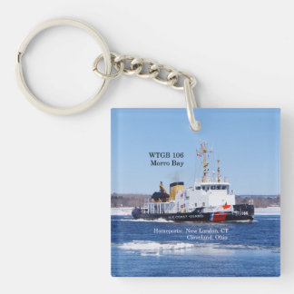 WTGB 106 Morro Bay acrylic key chain