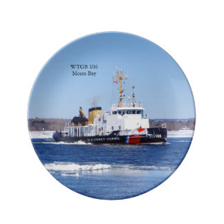 WTGB 106 Morro Bay decorative plate
