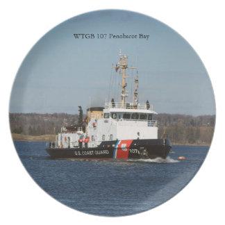 WTGB 107 Penobscot Bay plate