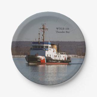 WTGB 108 Thunder Bay paper plate