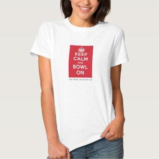 "WTLBC ""Keep Calm and Bowl On"" – Light (Women's) T Shirt"