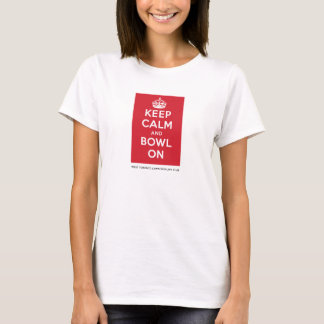 "WTLBC ""Keep Calm and Bowl On"" – Light (Women's) T-Shirt"