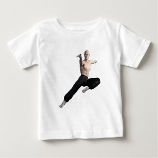 Wu Shu Form coming down to the front Baby T-Shirt