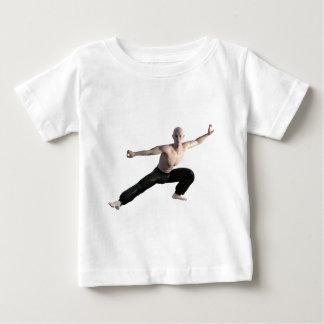 Wu Shu Form Right Leg Extended Baby T-Shirt