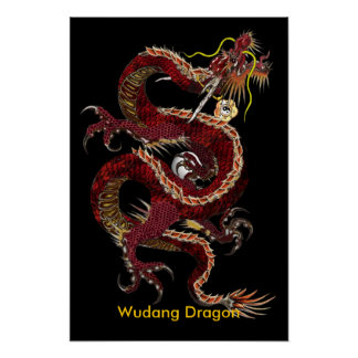 Wudang Dragon Poster - Customized