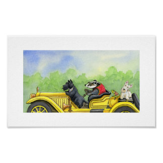 Wuffling through the Whippety Wood Poster