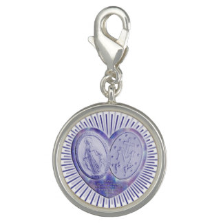 Wunderbare Medaille / miraculous Medal Photo Charms
