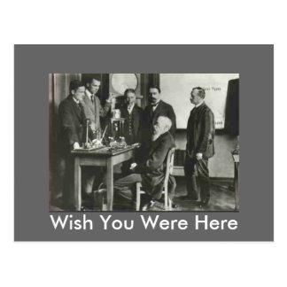Wundt's Lab Postcard