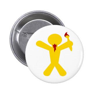 Wurmart Icon 2 Inch Round Button