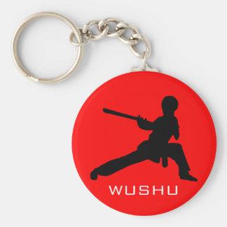 Wushu Staff Keychain