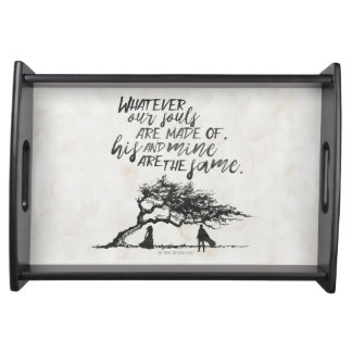 Wuthering Heights B&W tray