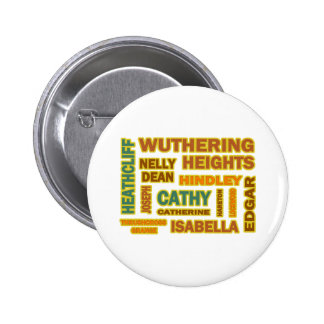 Wuthering Heights Characters 2 Inch Round Button