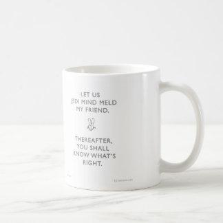 WW013 badass bunny jedi mind meld waitwot Coffee Mug