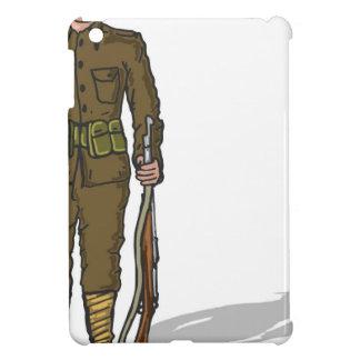 WW1 soldier Marine Sketch iPad Mini Covers