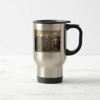 WW1Stamps Travel Mug