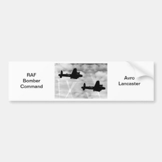 WW2 Avro Lancaster Bomber Bumper Sticker