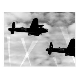 WW2 Avro Lancaster Bomber Postcard