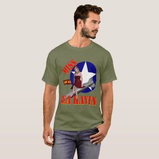 WW2 Bomber Miss Behavin' 1944 T-Shirt