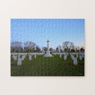 WW2 Canadian Cemetery Normandy France Puzzle