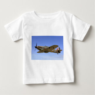 WW2 Hurricane Fighter Plane Baby T-Shirt