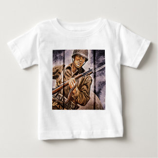 WW2 Poster Soldier Baby T-Shirt