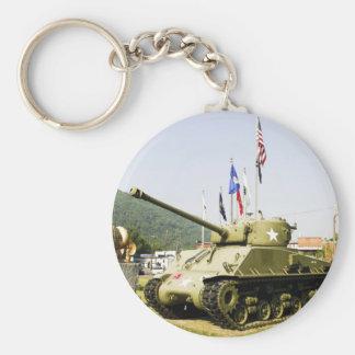 WW2 Sherman Tank Keychain