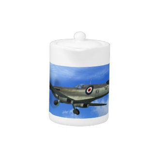 WW2 Spitfire Mk15 Fighter Plane Teapot