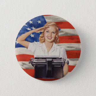 WW2 stenographer button