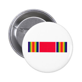 WW2 Victory Ribbon 2 Inch Round Button