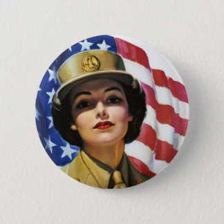WW2 Wartime Propaganda Poster 2 Inch Round Button