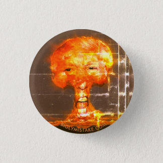 WW3 THE RATINGES WLL BE YUGE! 1 INCH ROUND BUTTON