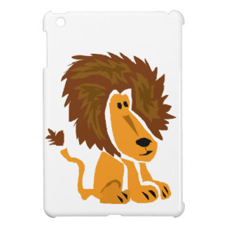 WW- Primitive Art Lion iPad Mini Cases
