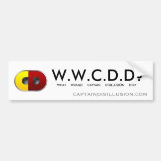 WWCDD? Bumper Sticker