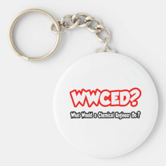 WWCED...What Would a Chem Eng Do? Keychain