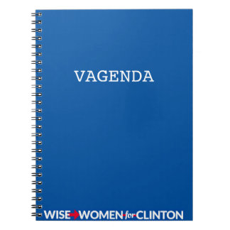 WWFC Vagenda Spiral Notebook (Blue)