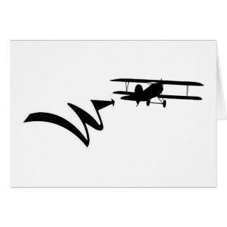 WWI  0002 - Albatros DV - Hans von Hippel Card