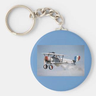 WWI Airplane Keychain