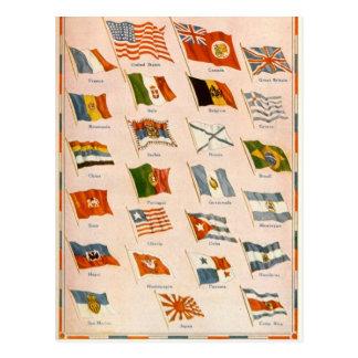WWI Allies Postcard