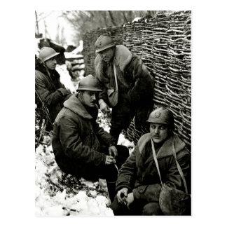 WWI American Field Service Postcard