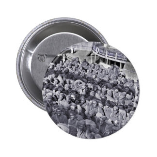WWI Black Soldiers on Transport Ship 2 Inch Round Button