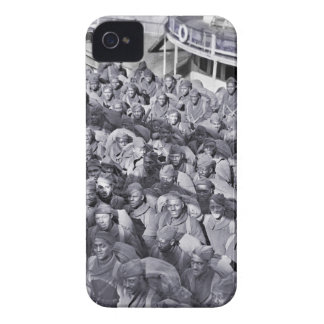 WWI Black Soldiers on Transport Ship iPhone 4 Cases