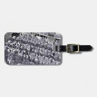 WWI Black Soldiers on Transport Ship Luggage Tag