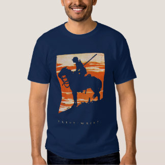 WWI German Cavalry Poster T Shirt
