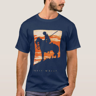 WWI German Cavalry Poster T-Shirt