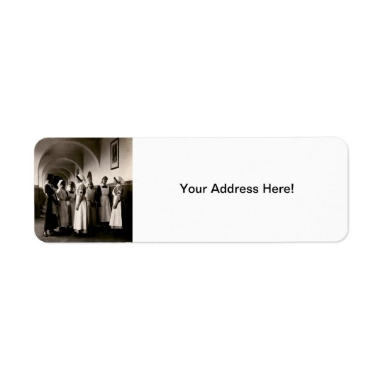 WWI German Nurses Return Address Label