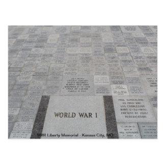 WWI Liberty Memorial # 4 Postcard