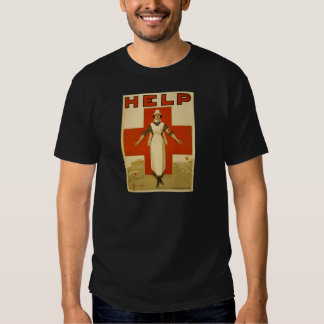 WWI - Red Cross T-shirts
