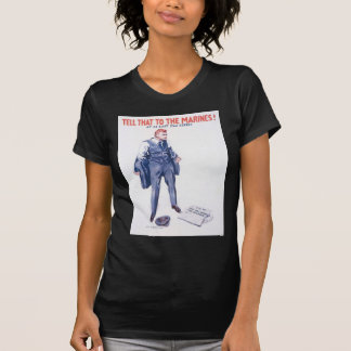 WWI Vintage US Marines Poster T-Shirt